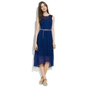 Madewell :: Beaded Yoke Silk Dress